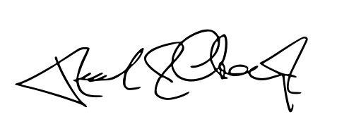 Dr. Rick Chromey signature