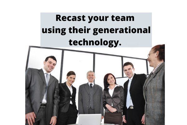 Workforce and team and technology