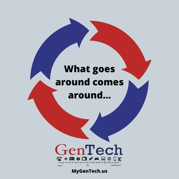 What goes around comes around in GenTech