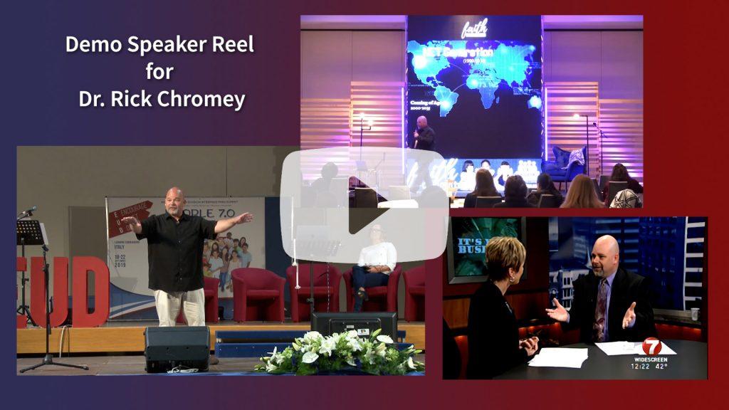 Rick Speaker Reel video play
