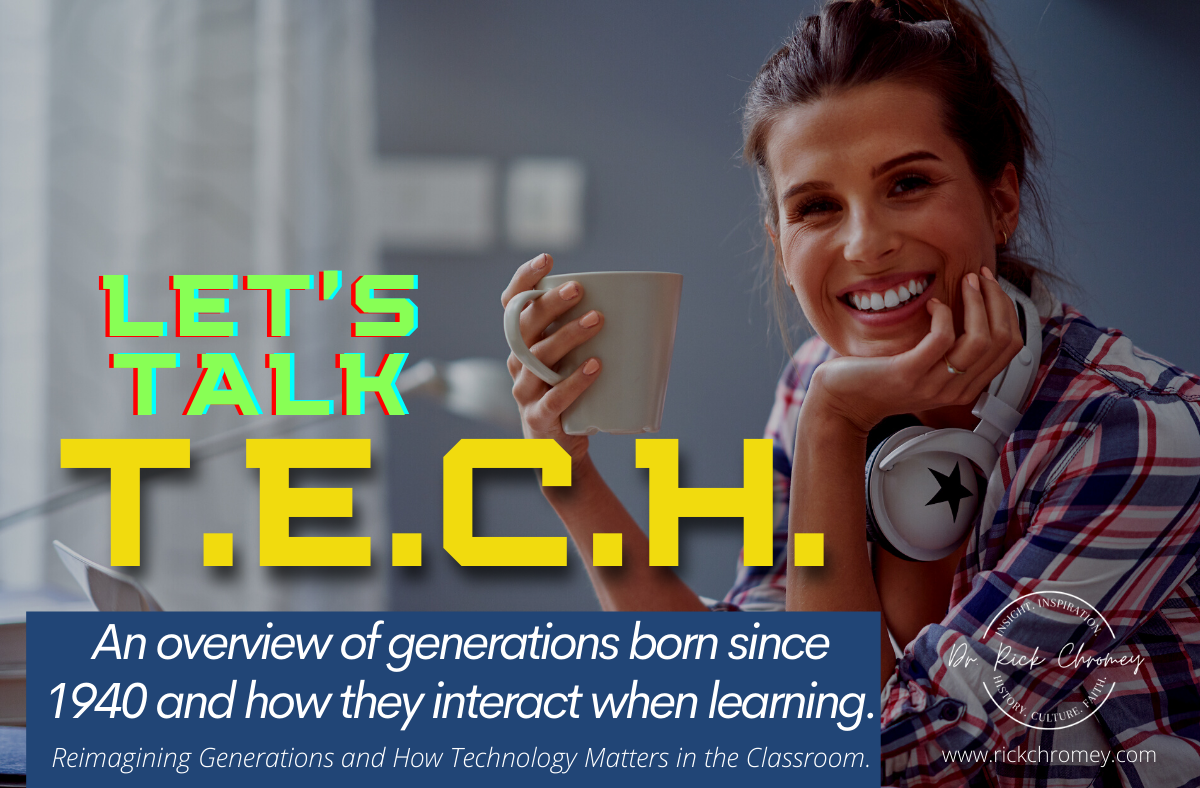Let's Talk TECH in the Classroom Workshop AD Banner