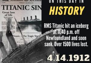 OTDIH.April 14 1912.Titanic Sinks