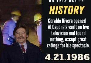 OTDIH.April 21 1986.Geraldo Rivera Opens Al Capones Vault