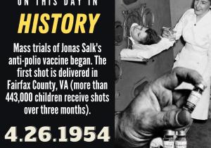OTDIH.April 26 1954.Jonas Salk and Polio