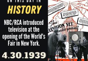 OTDIH.April 30 1939.Television Debuts