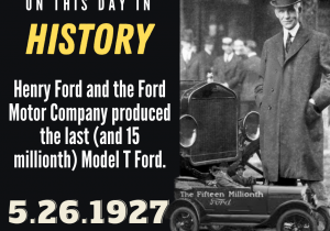 OTDIH.May 26 1927.15 Millionth and Final Model T