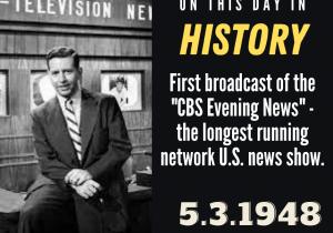 OTDIH.May 3 1948.CBS News Launches